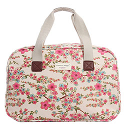 Oilcloth Overnight Large Tote